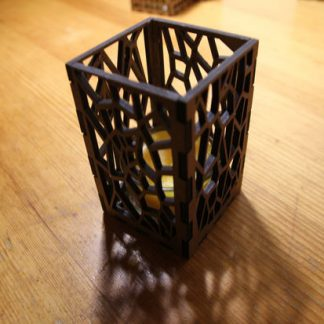 candle holder gift abstract